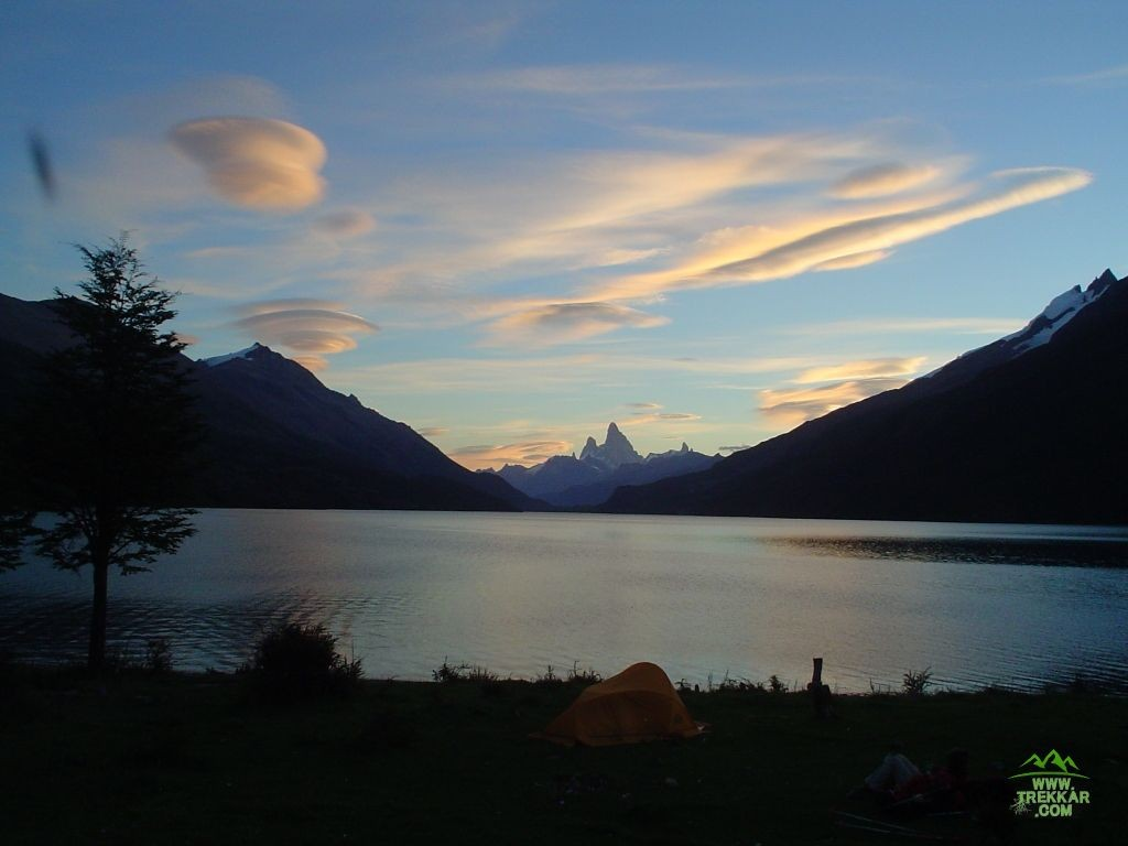 Beatiful landscape of Lago del Desierto