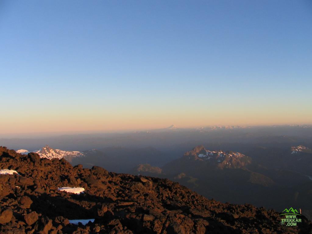 Vista panorámica desde la ladera Volcán Lanin