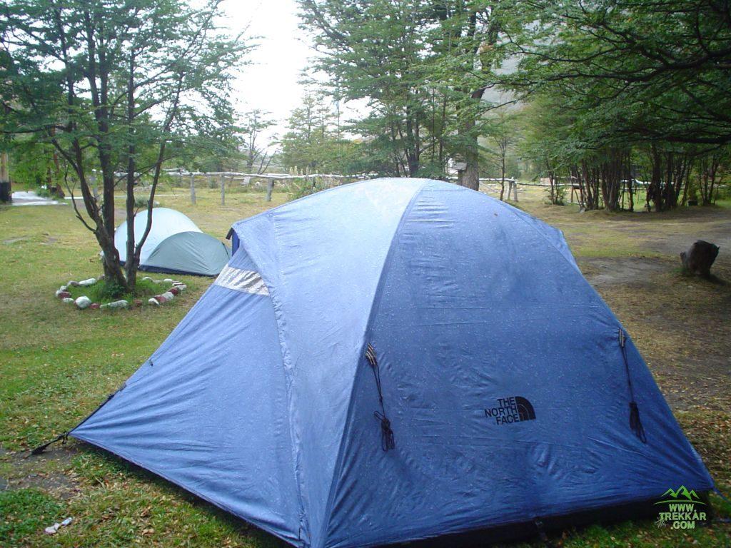 campsite on Piedra del Fraile
