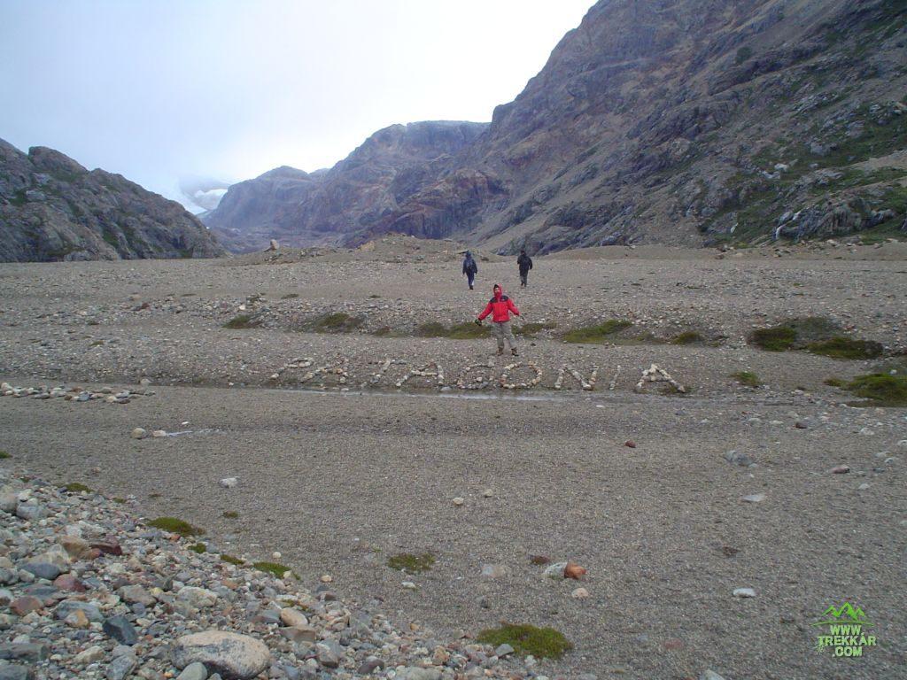 Piedra del Fraile to p. Marconi